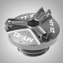 For YAMAHA MT07 MT03 MT25 2005-2011 2015-2017 MT10 MT-10 Motorbike CNC Engine Oil Filler Cup Cap