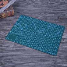 Plastic Scale Cutting Mat PVC Self-Healing A4 Office Home Paper Craft DIY Tool Escolar Double Sided Grid Lines Cutting Board Pad