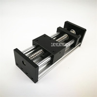Double axis Stepping Motor Ball screw Slide Table Linear Guide Slide Linear Drive Module Slide Table 1204/1605/1610 100MM 0.05MM