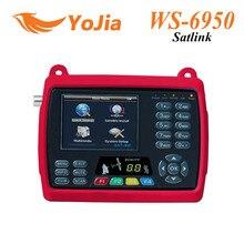 """[Original] satlink ws 6950 3.5 """"buscador de satélite digital signal meter ws6950 ws-6950 envío gratis"""