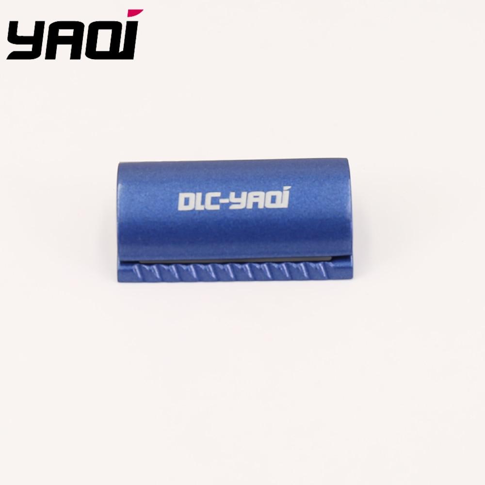 Yaqi Space Blue Color Scalloped Bar Double Edge Safety Razor Head