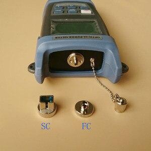 Image 2 - 2 w 1 zestaw narzędzi światłowodowych FTTH King 60S miernik mocy optycznej 50 do + 20dbm i 1mW lokalizator uszkodzeń wizualnych światłowodowy długopis testowy