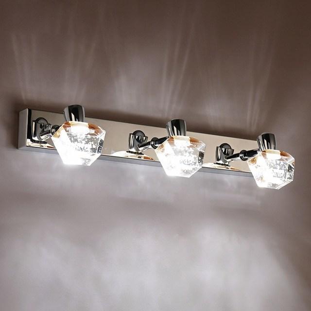 Beau Fashion LED Bathroom Bubble Crystal Wall Light Contemporary Mirror Front  Washroom Wall Lights Lamp Dressing Table