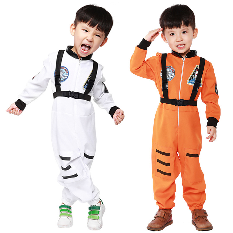 2 COLOR kids boys astronaut costumes cosplay costumes for ...