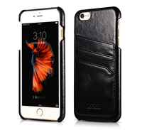 Retro Baroque Series Cover Case For IPhone 6 6s Plus Outer Card Holder Genuine Leather Original