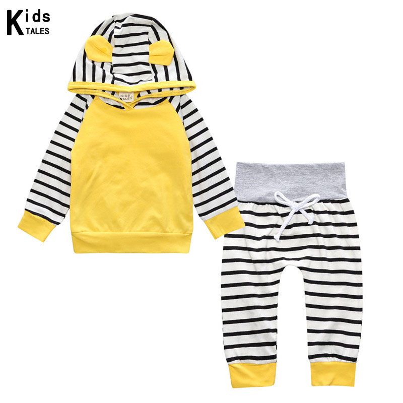 Children 39 s clothing sets 2018 The novelty of autumn for boys cotton brand Long sleeves tops with hooded T shirt Pants in Clothing Sets from Mother amp Kids