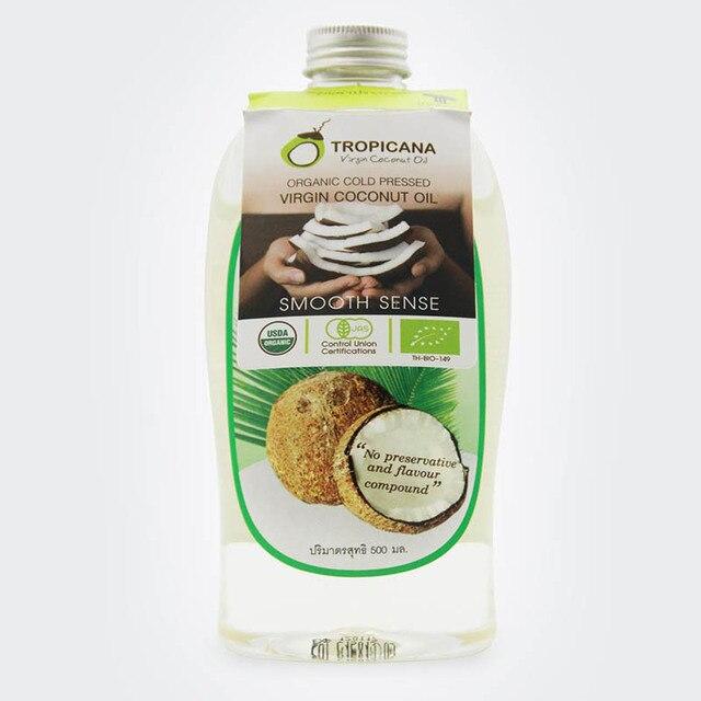 pure natural coconut oil 500 ml virgin organic cold pressed Thailand coconut oil skin& hair care essential oils body massage oil