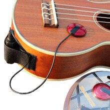 Акустические инструменты Гавайские гитары укулеле электронный пикап датчиков гитары аксессуары для гавайской гитары Малый EQ доска пикап
