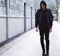 Высокое Качество мужская Дизайнер Одежды Бренда Slp Лодыжки Молния Джастин Бибер Rockstar Проблемные Ripped Тощий Страх Божий Джинсы