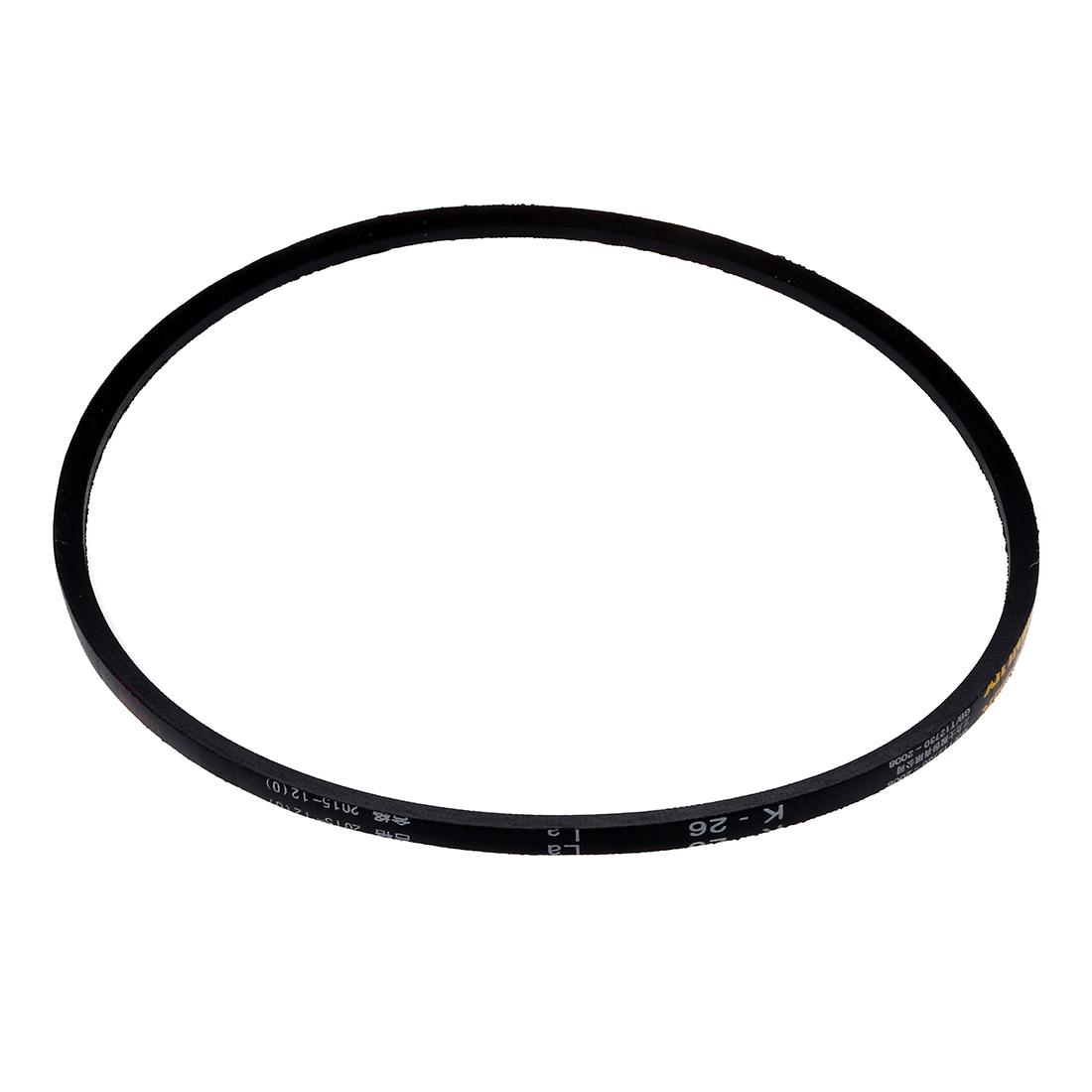 """5/16 """"x 26"""" industrie tondeuse à gazon en caoutchouc noir K Type Vee V ceinture K-26"""