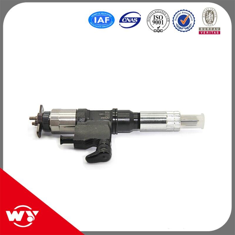 Injecteur commun 095000-5215 d'injecteur de rail de pièces de moteur diesel de livraison rapide pour l'injection de carburant