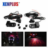 Xenplus Araba Melek kanatları LED atmosfer ışığı otomatik lamba Araba Kapı LED projektör Aydınlatma Karşılama işıkları Hayalet Işık Araba Styling