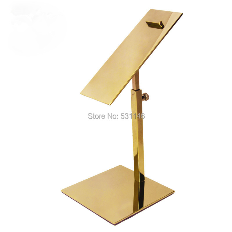 2PCS High Heel Shoes Holder Display Stand Stainless Steel Shelves for Home Store
