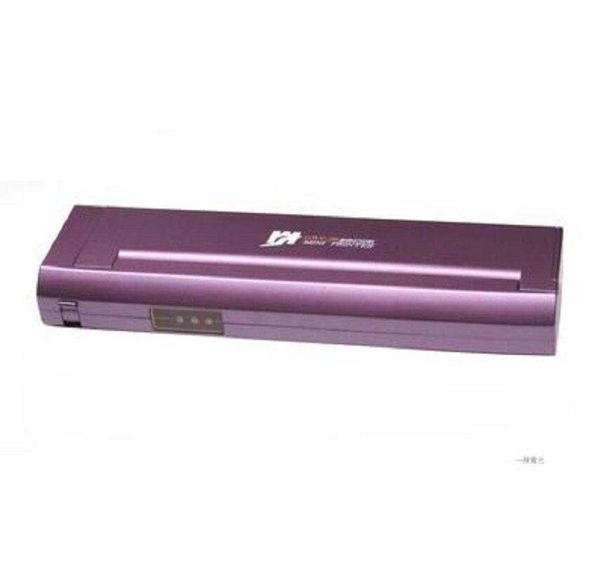 GWP-80 Mini USB type petit portable A4 imprimante thermique pour ordinateur portable appuyant l'utilisation dans la voiture