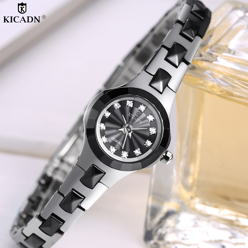 Trendy Women Bracelets Watches Luxury Fashion Small Wrist Watch Elegant Ladies Diamond Quartz Watch Charm Popular Clock For Gift цена 2017