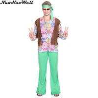 Halloween Hip Hpt Costume Vintage 50s Hippie Clothing Night Club Bar Party Stage Hip Hop Singers Performance Clothing