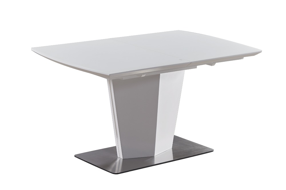 Fancy-Fix Half Auto Butterfly dining table for kitchen Stainless steel folding table Fashion trending dining room furniture