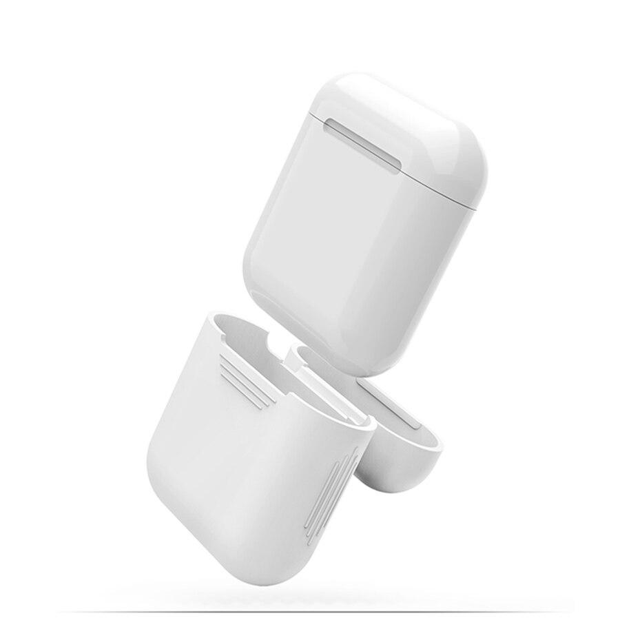 Këllëf kufje silikoni për aparate Apple Airpods Mbulesë - Audio dhe video portative - Foto 4