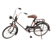 10' Iron Vintage Design Replica Bicycle Model Toy Metalwork Craft Home Decoration Ornament
