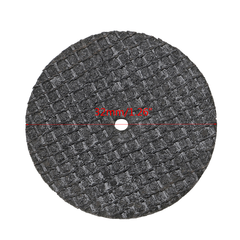Image 5 - 50Pcs Fiberglass Tool Abrasive Cutting Disc Cut Off Wheel with 4 Mandrels Rotary  Y103-in Saw Blades from Tools