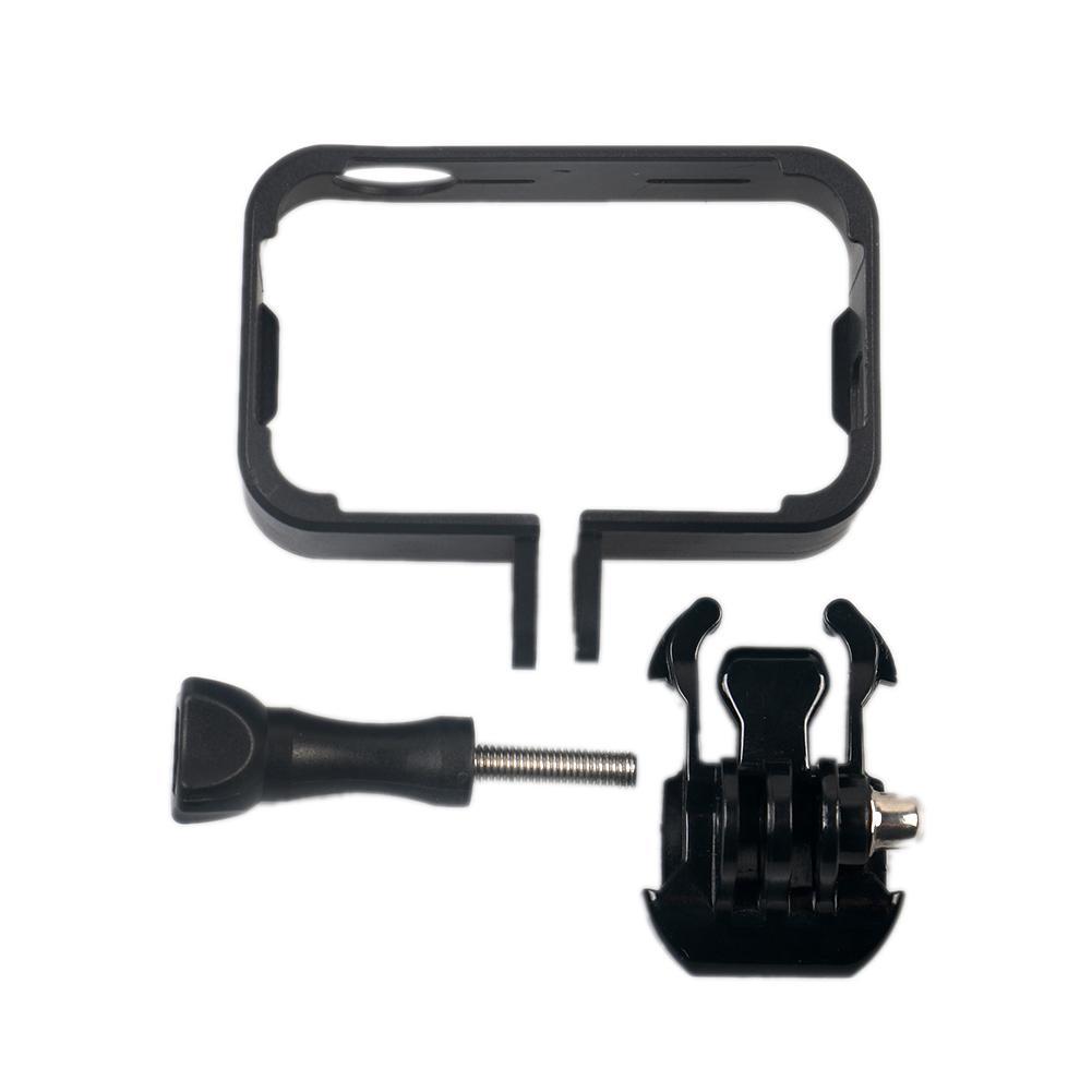 Защитный рамочный кронштейн Fo 4 K мини Экшн камера с креплением база длинный винт черный Быстрая доставка-in Чехлы для спортивных видеокамер from Бытовая электроника