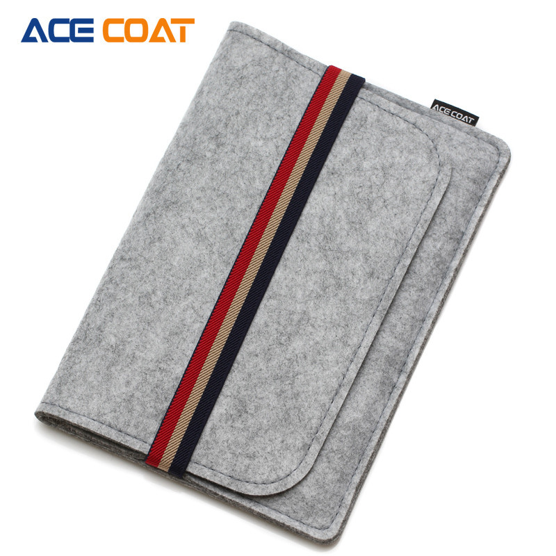 ACECOAT Felt Tablet Case For Apple iPad mini Case 7.9inch Cover Envelope Pouch Sleeve Bag iPad mini2/3/4 Protective Pocket Shell gp 01 retro envelope style protective pu leather inner bag pouch case for ipad mini brown