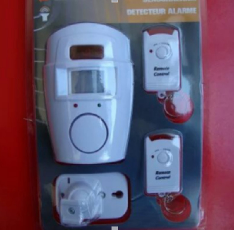 Wireless Remote Control Independent Alarm Detection PIR Motion Detector