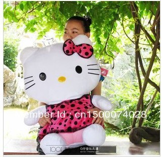 50cm Hello Kitty doll hello kitty cat KT cat doll plush toy birthday Valentine's Day Gifts