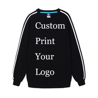 Custom Made Print Sweatshirt Promotion Customized Printing Logos Flag DIY Your Designs Company Advertisement drop Shipping