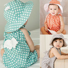 Newborn Baby Polka Dots Romper Toddler Infant Boy Girl Angel Wing Cute Lovely Rompers Jumpsuit Cotton Clothes Outfits