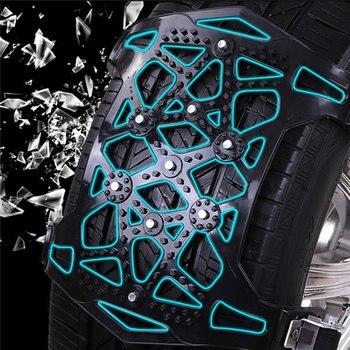 автомобильные шины | Простая установка простой зимний грузовик автомобиль снег цепь шины Противоскользящий ремень для снега грязи или песка дороги