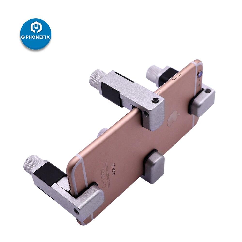 PHONEFIX 4pcs/lot Mobile Phone Clamp Fixture LCD Screen Positioning Clip Repair Tool for iPhone iPad Samsung Cellphone Repair