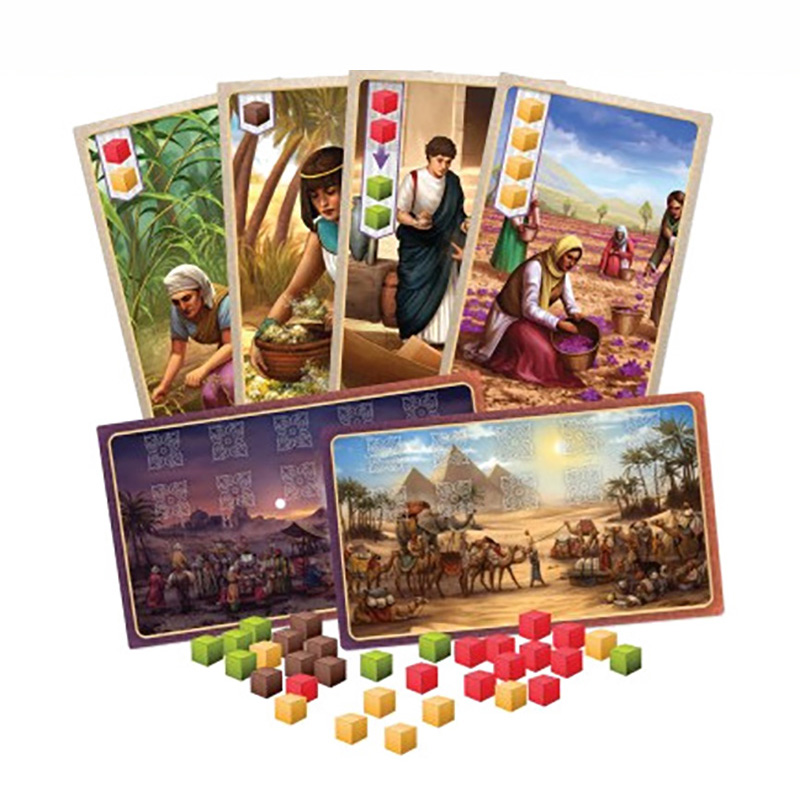 Spice Road 123 Board Game 2-5 Players Best Gift For Children Funny Game