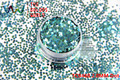 TCB460   Round Dot Shape  pattern colors 2.0MM Size glitter spangles for nail Art  and  other DIY decoration