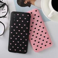 На Алиэкспресс купить чехол для смартфона love heart silicone cover for vivo v3 max v5 v7 plus v9 v11i y66 y55 y53 y69 y79 y85 y71 y83 y97 y93 y91 z1 new 2 z3 case couque