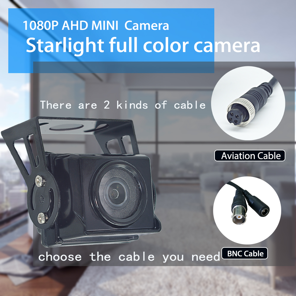 Image 5 - OUERTECH 1080P AHD Star light full color night vision Outdoor Waterproof IP66 Real time MINI Car Camera for Bus Taxi Truck VanSurveillance Cameras   -