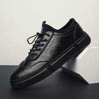 high Quality Men genuine Leather Shoes outdoor spring autumn Fashion Men Loafers Shoes men Breathable Light Men Boat Shoes k3