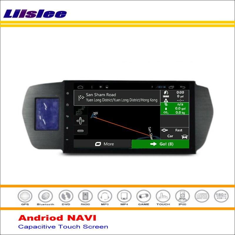 Liislee coche Android GPS NAV NAVI sistema de navegación para Honda para Odyssey 2004 ~ 2008 Radio de Audio Video Multimedia (no reproductor de DVD