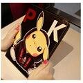 Fashion Gift Pokemon Go Game Pikachu For Mini 123 For iPad Mini 4 Cover Case Smart Sleep Silicone PU Leather Stand Case Cover