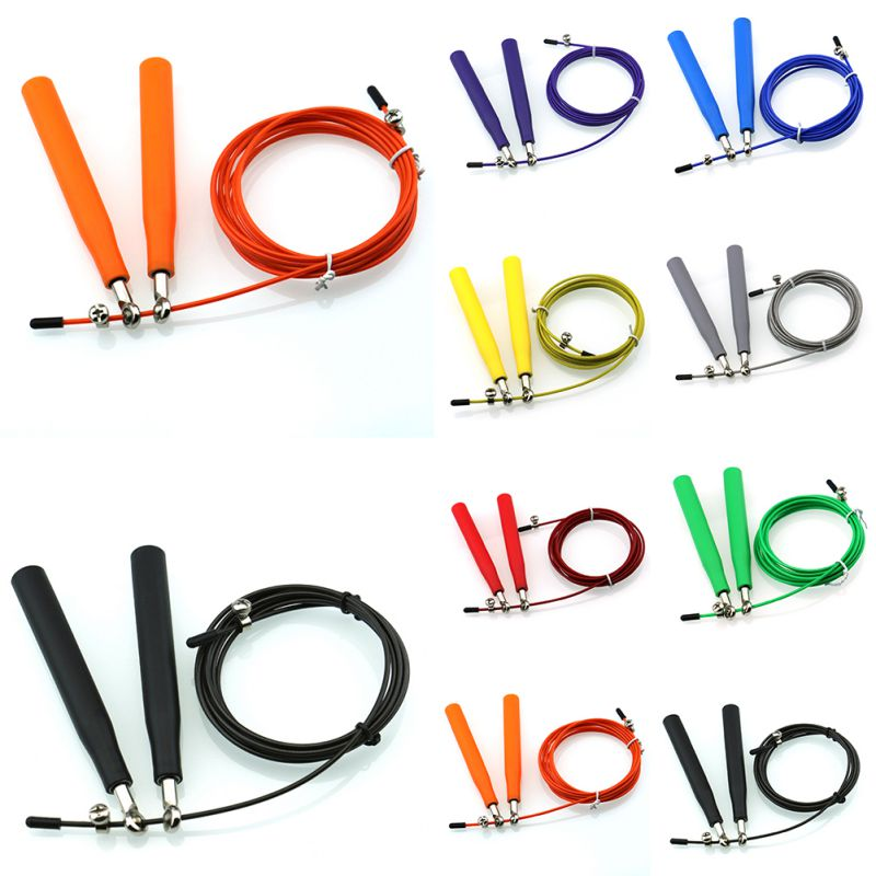 Brand Original Ultra Speed Steel Wire Skipping Skip Jump Rope Crossfit