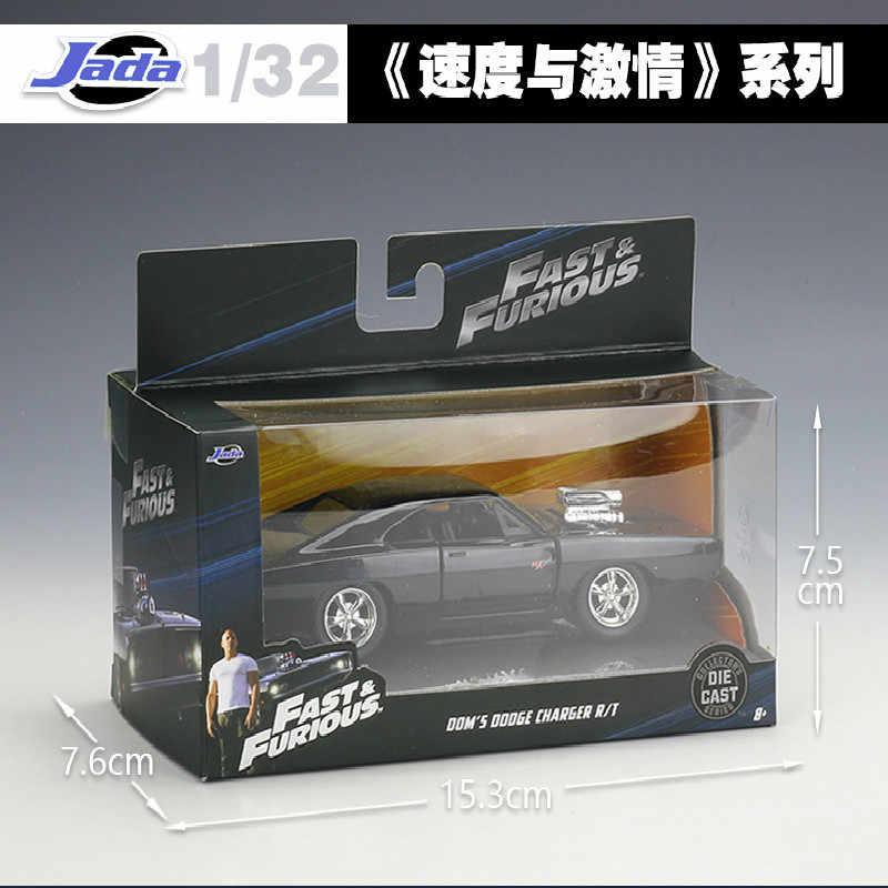 1:32 Jada Классическая Металлическая быстрая и яростная 8 Гоночная машина литая под давлением игрушка модель CarsToy для детей Подарки коллекция Бесплатная доставка