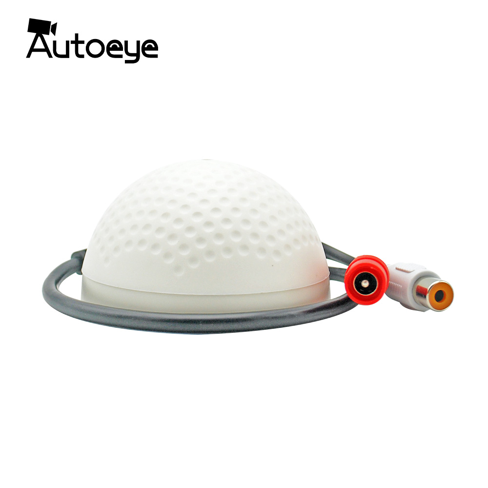 Autoeye New Arrival CCTV Camera Microphone Mini Security Surveillance Audio Pickup Mike цена