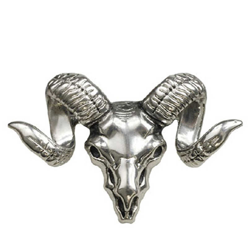 Trendy Perhiasan Vintage Hadiah Pin Bros Hewan Zodiak Sheephead Bros Lencana Pria Dan Wanita Setelan Aksesori
