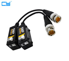 1080 P AHD/HD CVI/TVI/CVBS pasywne HD Balun wideo nadajnik 4 pary (720 P/ 960 P/1080P≤300M 3MP/4MP/5MP≤200M)