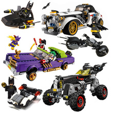 Batman Movie Joker`s Lowrider Penguin Classic Robbin`s Car Building Blocks Bricks Toys Compatible With Legoings
