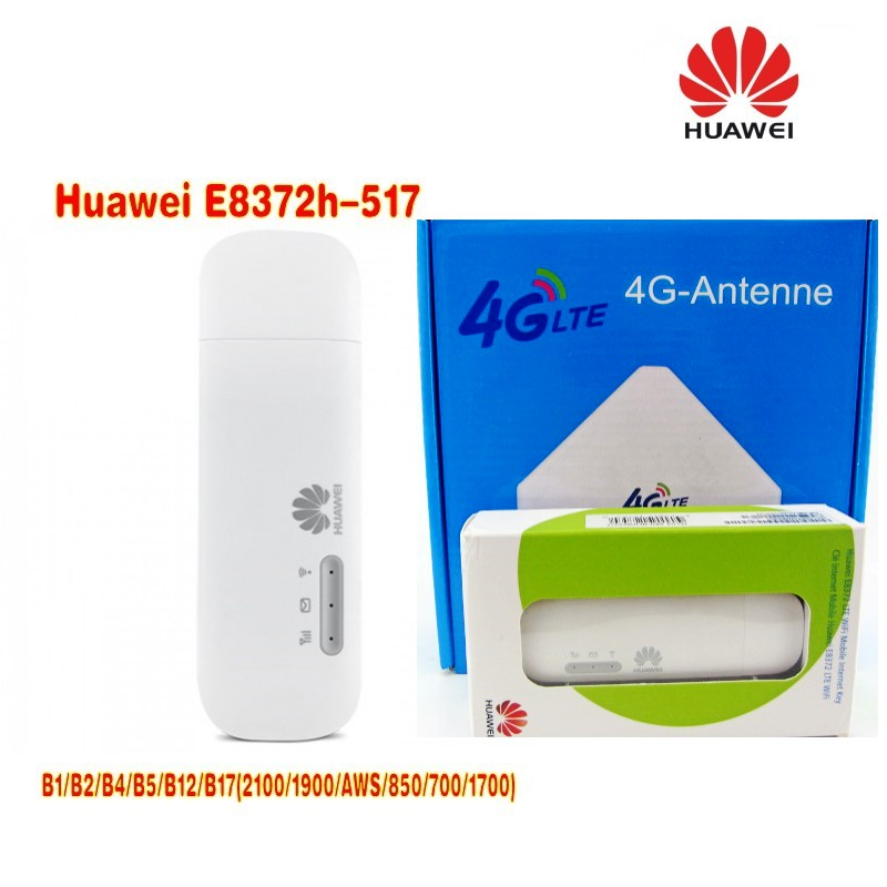Huawei E8372h 517 LTE FDD MiFi Модем stick plus 35dBi 4G внешний внутренний LTE WIFI антенна усилитель сигнала TS9 Разъем