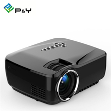 GP70UP Android 4.4 Projector 1200 Lumens Support 1920x1080P Analog TV LED Projector Wifi Projector for Home Theater Smart TV Box