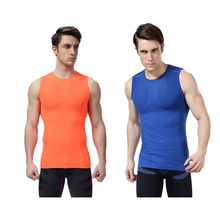 Compression Tights Men's Breathable Quick Dry Bicycle Cycling Clothing Compression Sleeveless Vest
