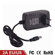2A LED Strip Power Supply Transformer Power Adapter AC110V-240V to DC 12V High quality EU/US