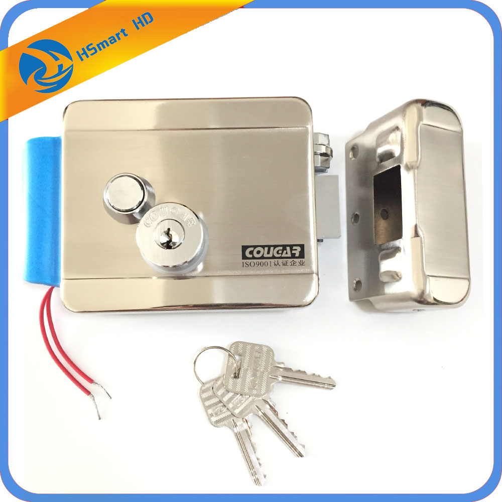 Electric Lock Electronic Door Lock for Video Intercom Doorbell Door Access Control System Best Door Lock Remote Doorbell Access